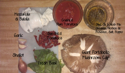 Portobello Mushroom ingredients