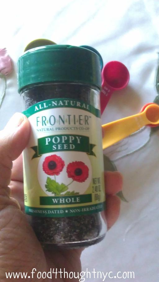 poppy seed jar
