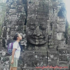 Kissing the Gods, Angkor Wat, Cambodia 2011