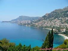 Gorgeous view of Monaco and the French Riviera 2009