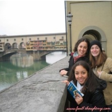 One of the many weekend rail trips with friends, Florence, Italy 2004