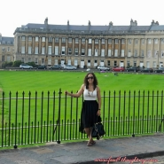 The Royal Crescent, Bath, England 2012