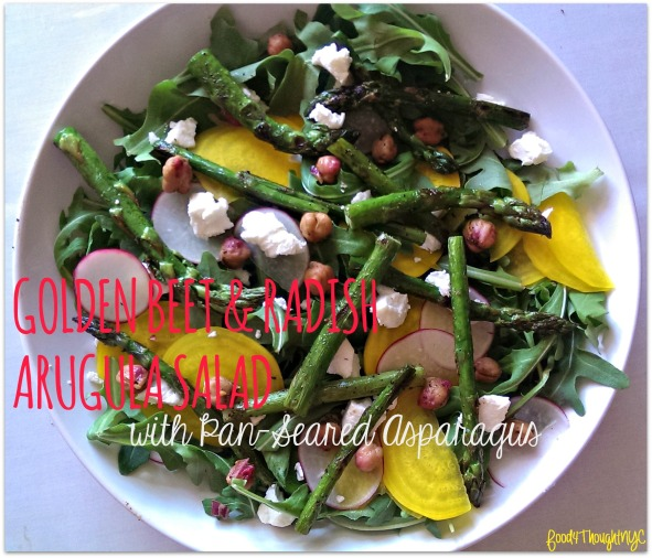 Beet & Radish Salad with Asparagus