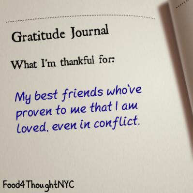 Gratitude Journal 4/3/14