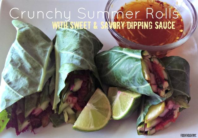 Crunchy Summer Rolls